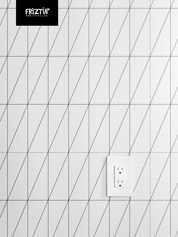 Inverted Triangle Pattern By Friztin Fabric Friztin